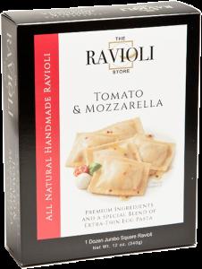 Tomato-Mozzarella-ravioli